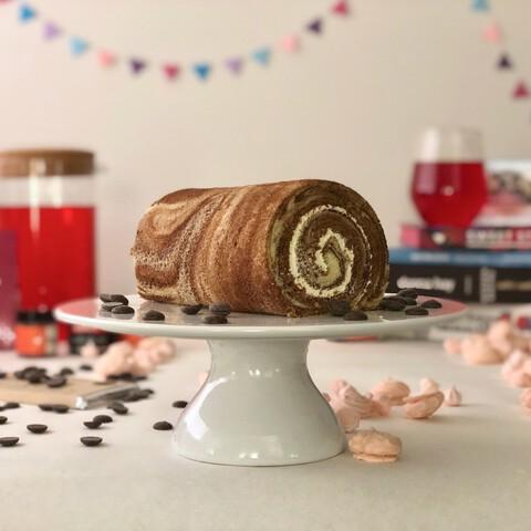 Swiss Roll Vanilla Chocolate