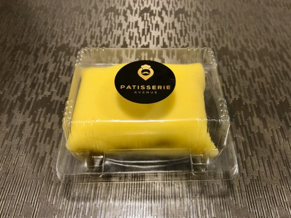 Durian Crepe Cake Front