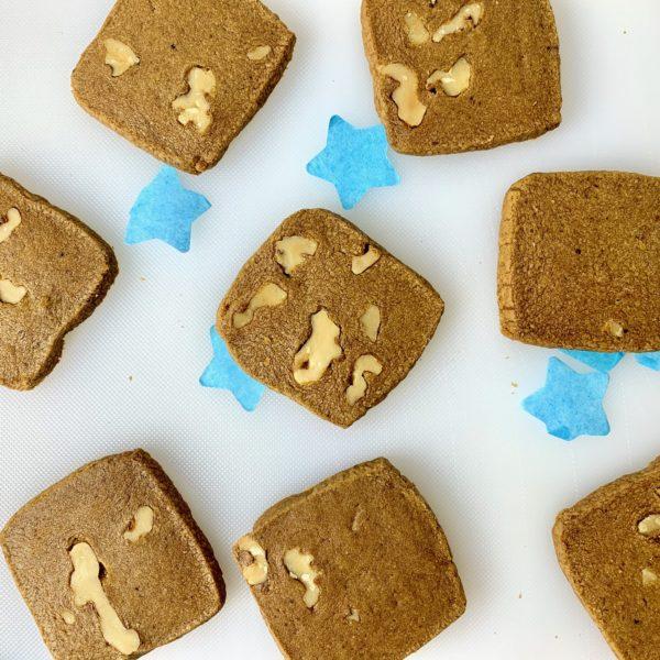 Coffee Walnut Biscuits