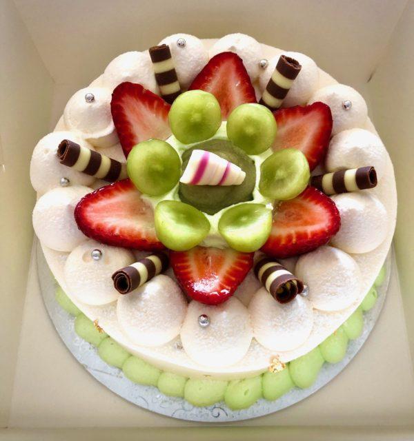 Pandan Kaya Cake