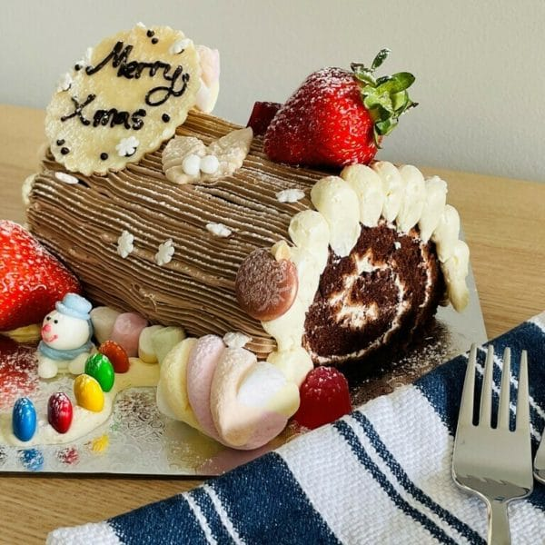 Chistmas Log Swiss Roll