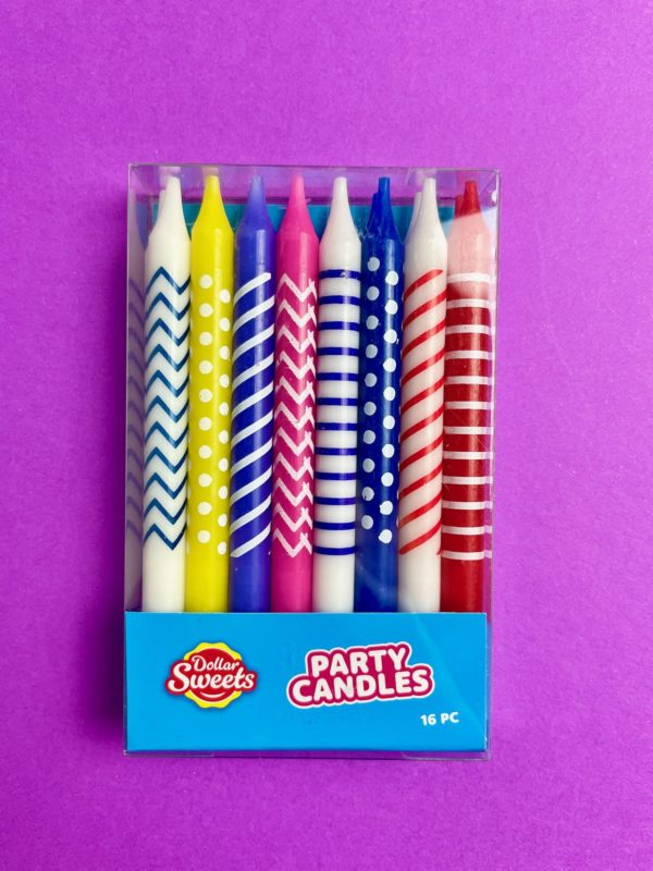 Party Candles 16pcs